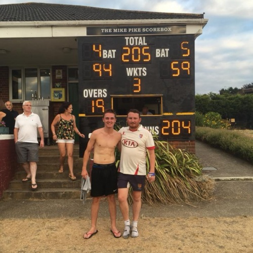 Cricket Match reports weekend of 28-29 July
