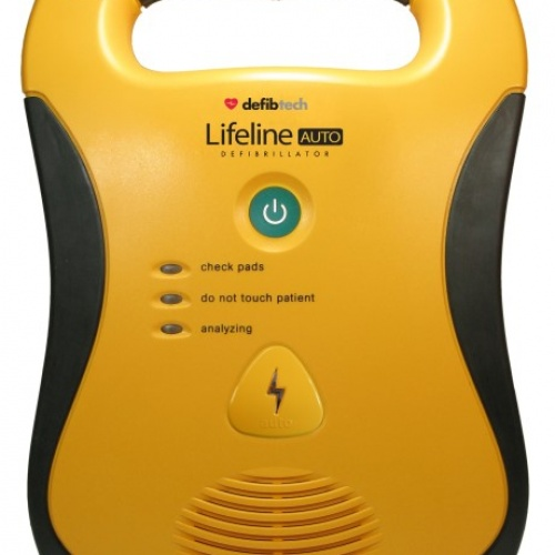 Save a life - New Defibrillator