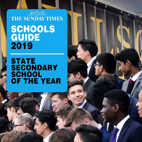 Wilson's named State Secondary School of the year , 2019 by The Sunday Times